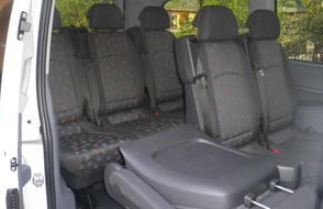 Mercedes Vito 115 CDI interno