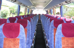 SETRA 415 HD internal